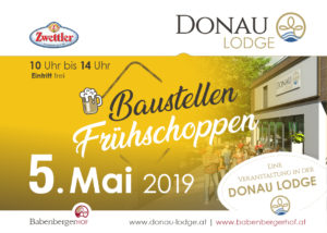 FRÜHSCHOPPEN in der DONAU LODGE @ Donau Lodge