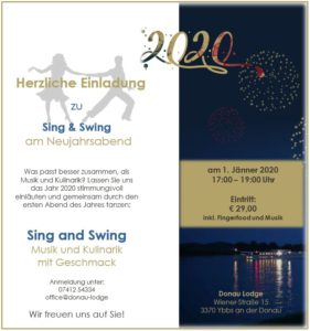 Sing & Swing am Neujahrsabend