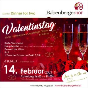 Valentinstag - Romantik zu Hause @ Babenbergerhof