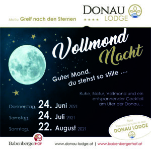 Magic Music Live in der Donau Lodge